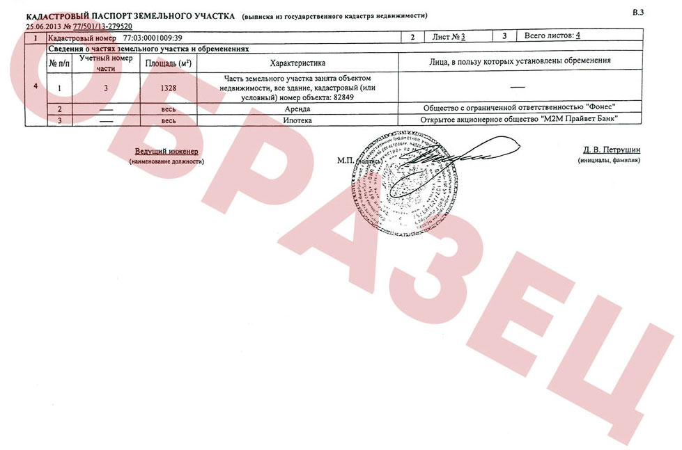 документы для получения адреса на земельный участок
